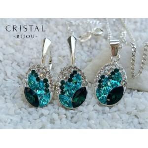 Set CANDY Smarald+Turquoise