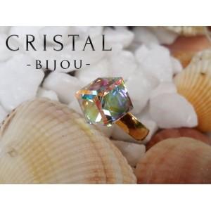 Inel CUBE Aurora